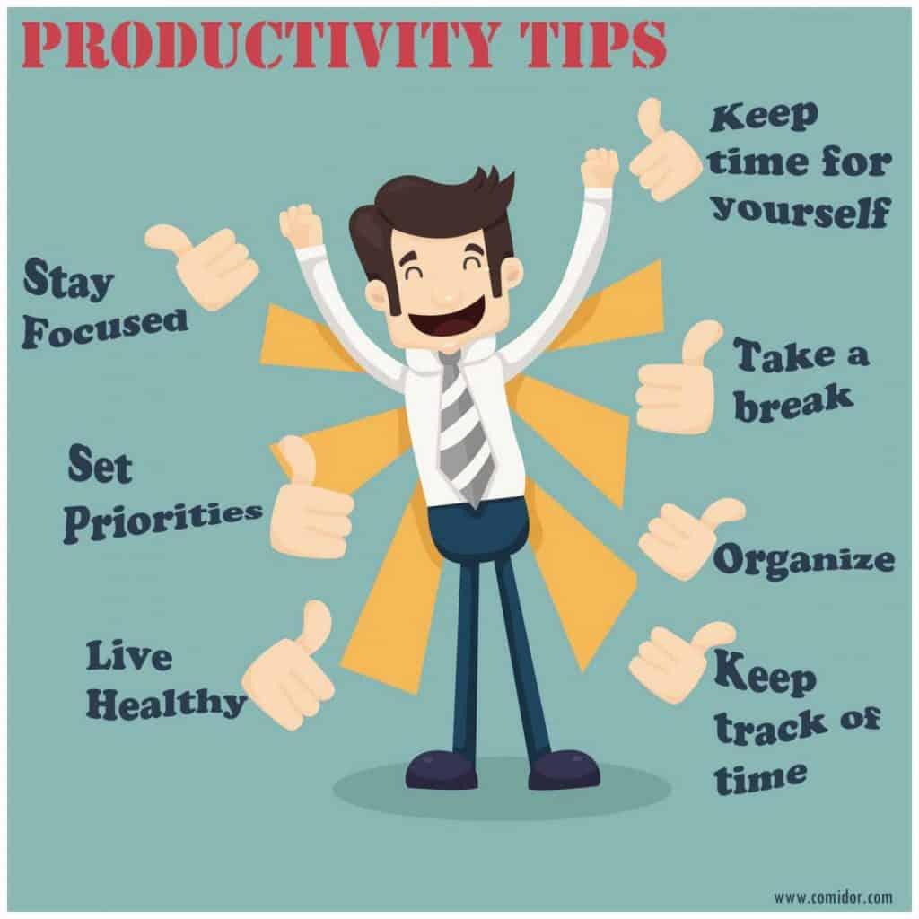 trucchi per aumentare la produttività