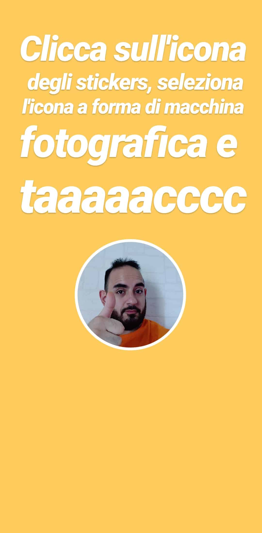creare stickers instagram