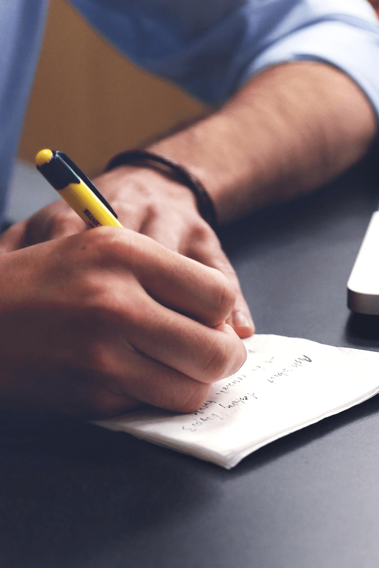 cattive abitudini di scrittura