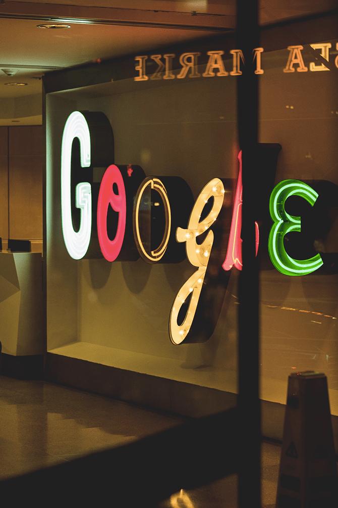 Google 20 ANNI