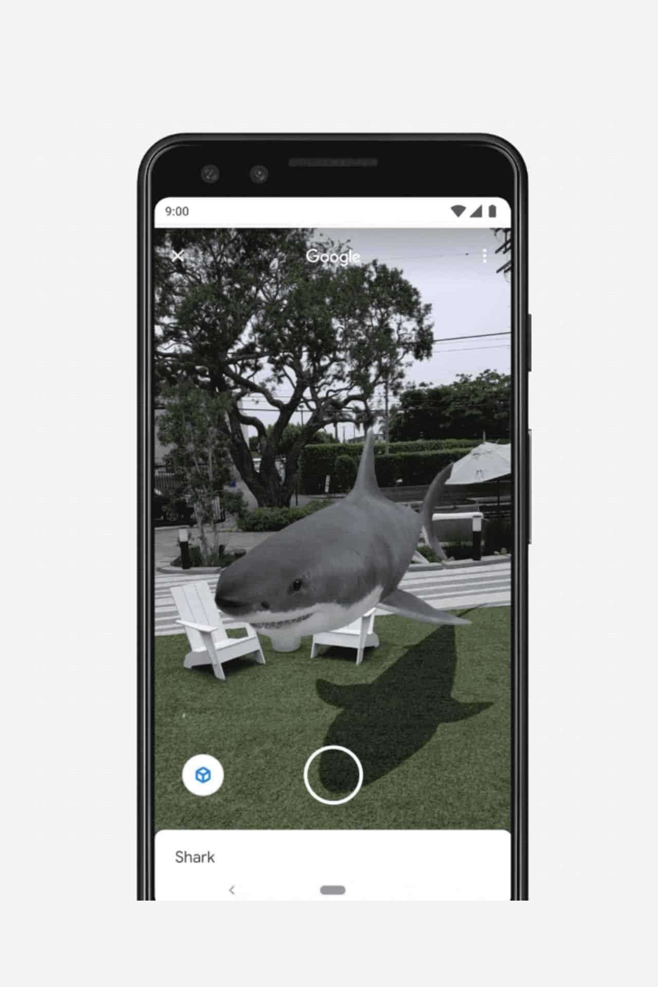 Realta aumentata SERP Google