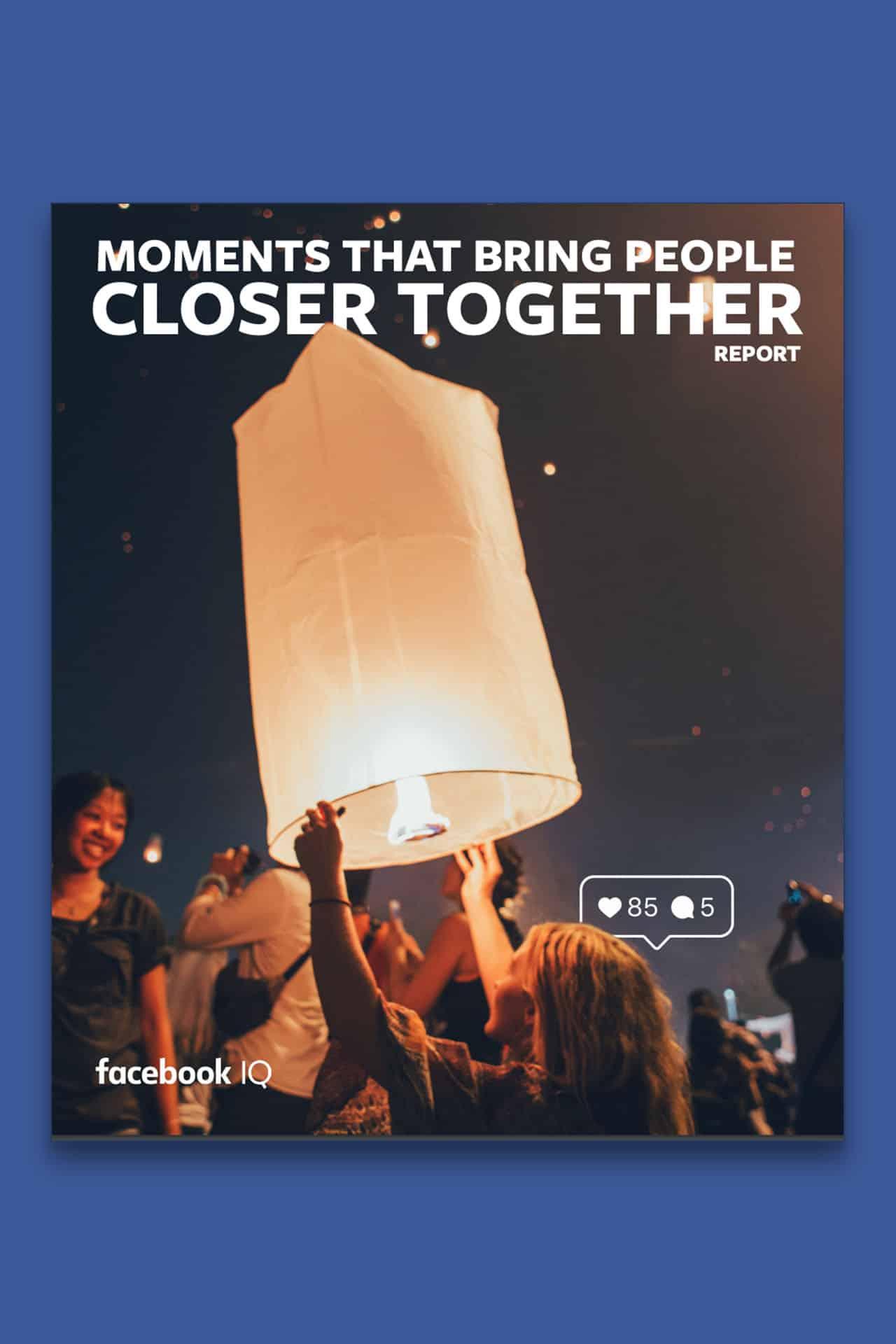 Facebook pubblica report su momenti chiave audience