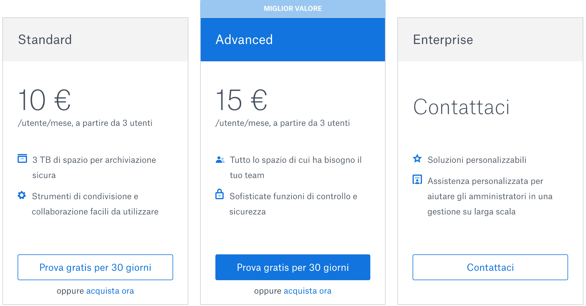 piani dropbox business