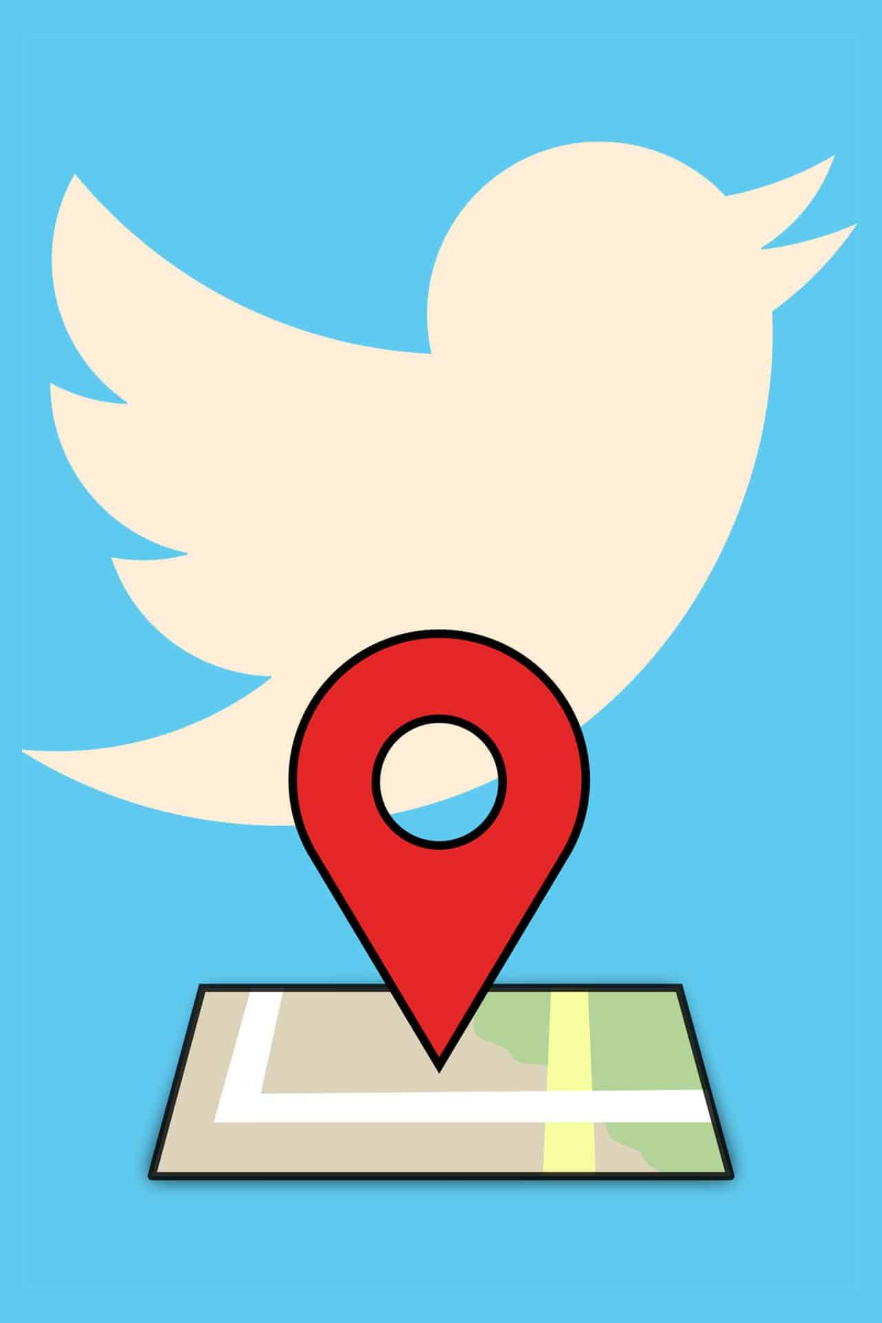 Twitter rimuove opzione posizione