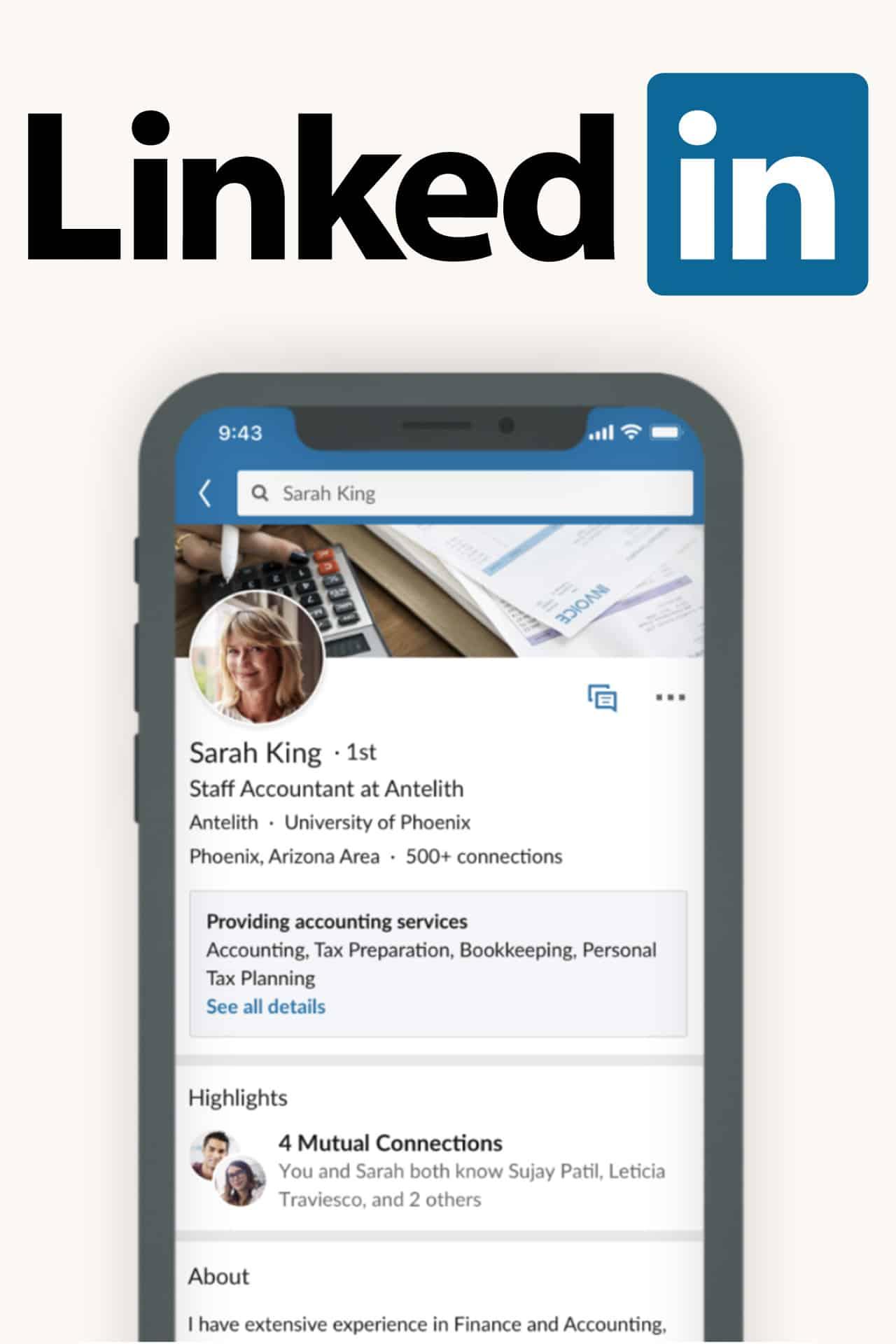 LinkedIn servizi