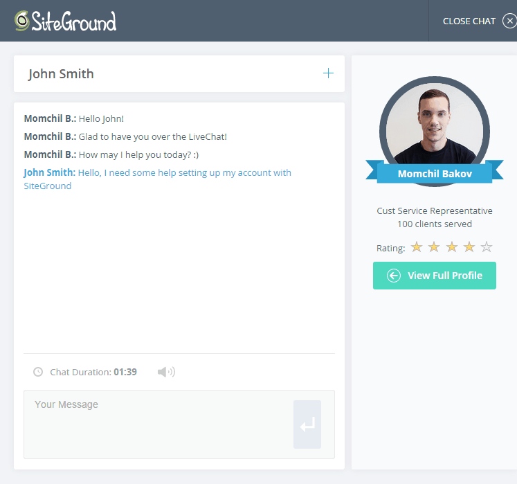 siteground customer care