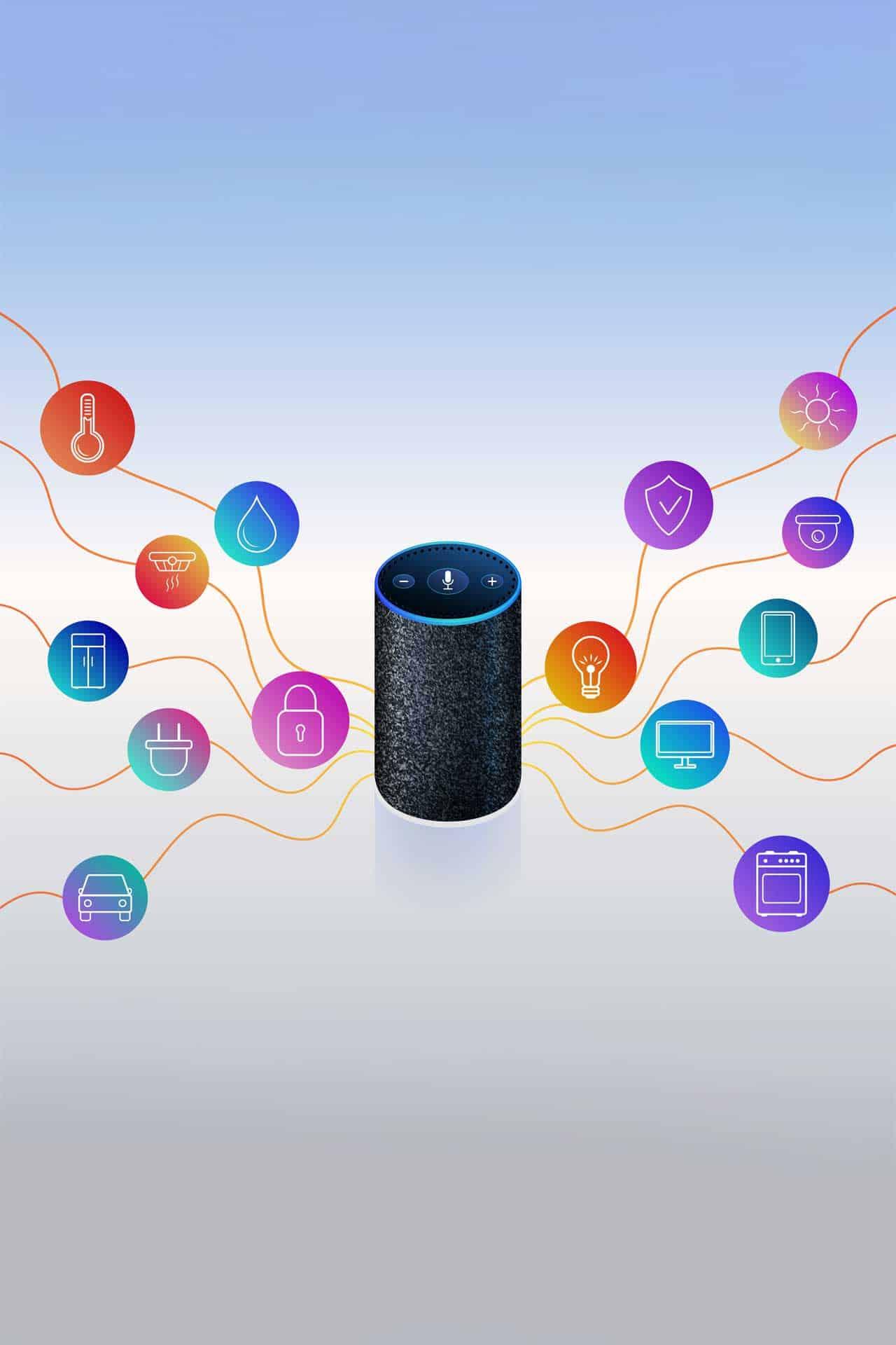 home smart speaker