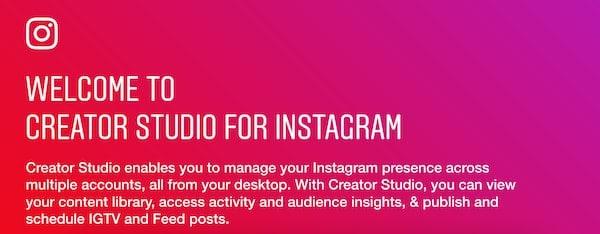 Guida creator studio