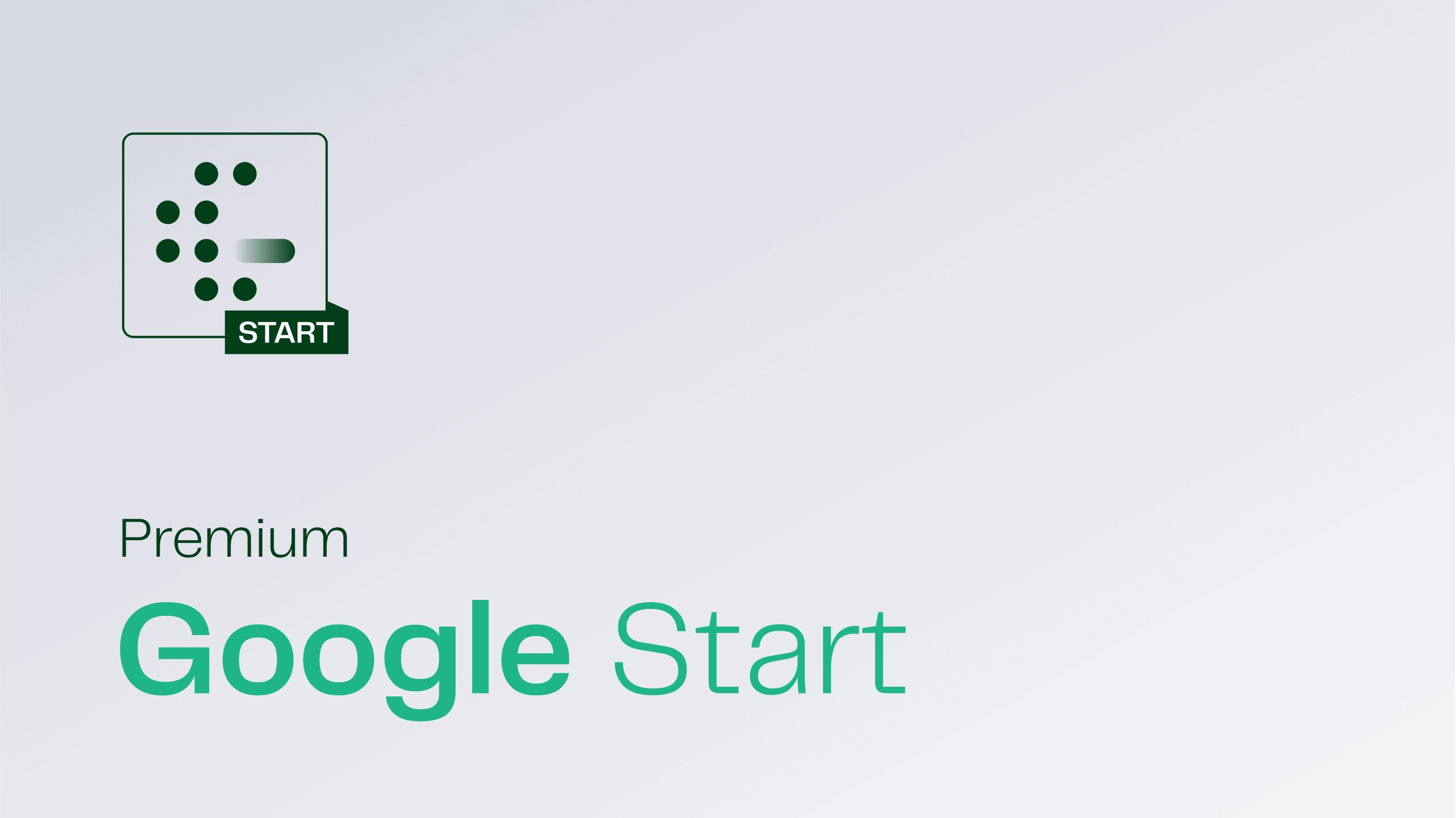Google Start Cover