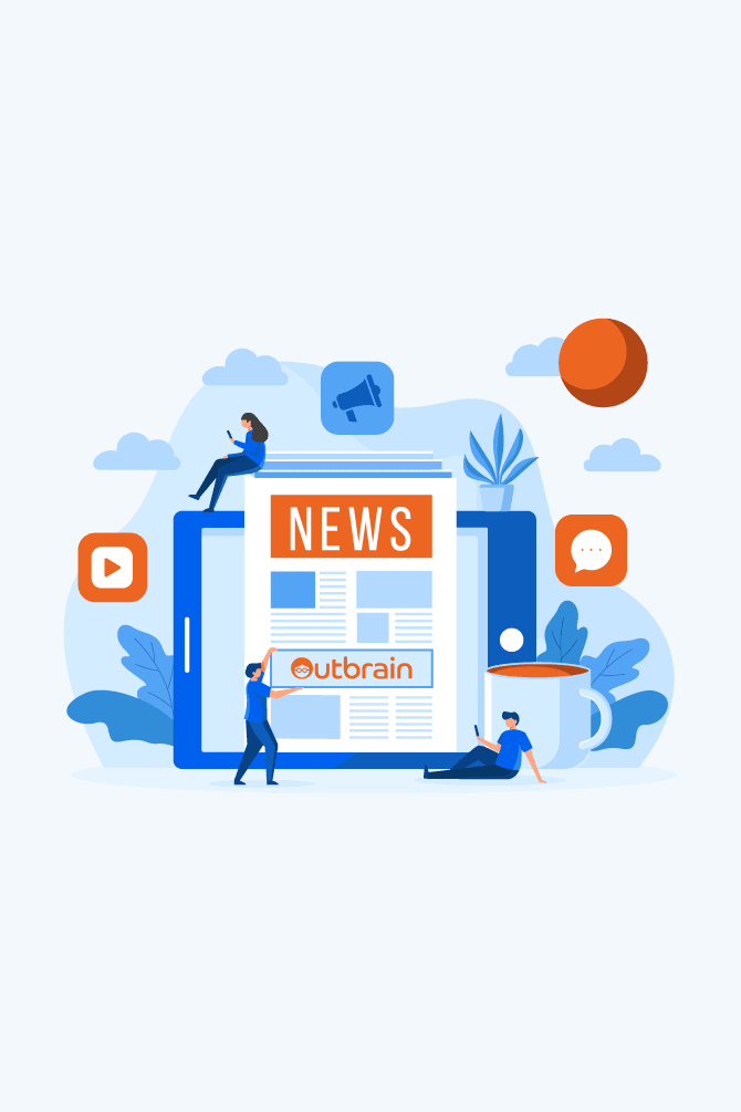 native advertising con outbrain