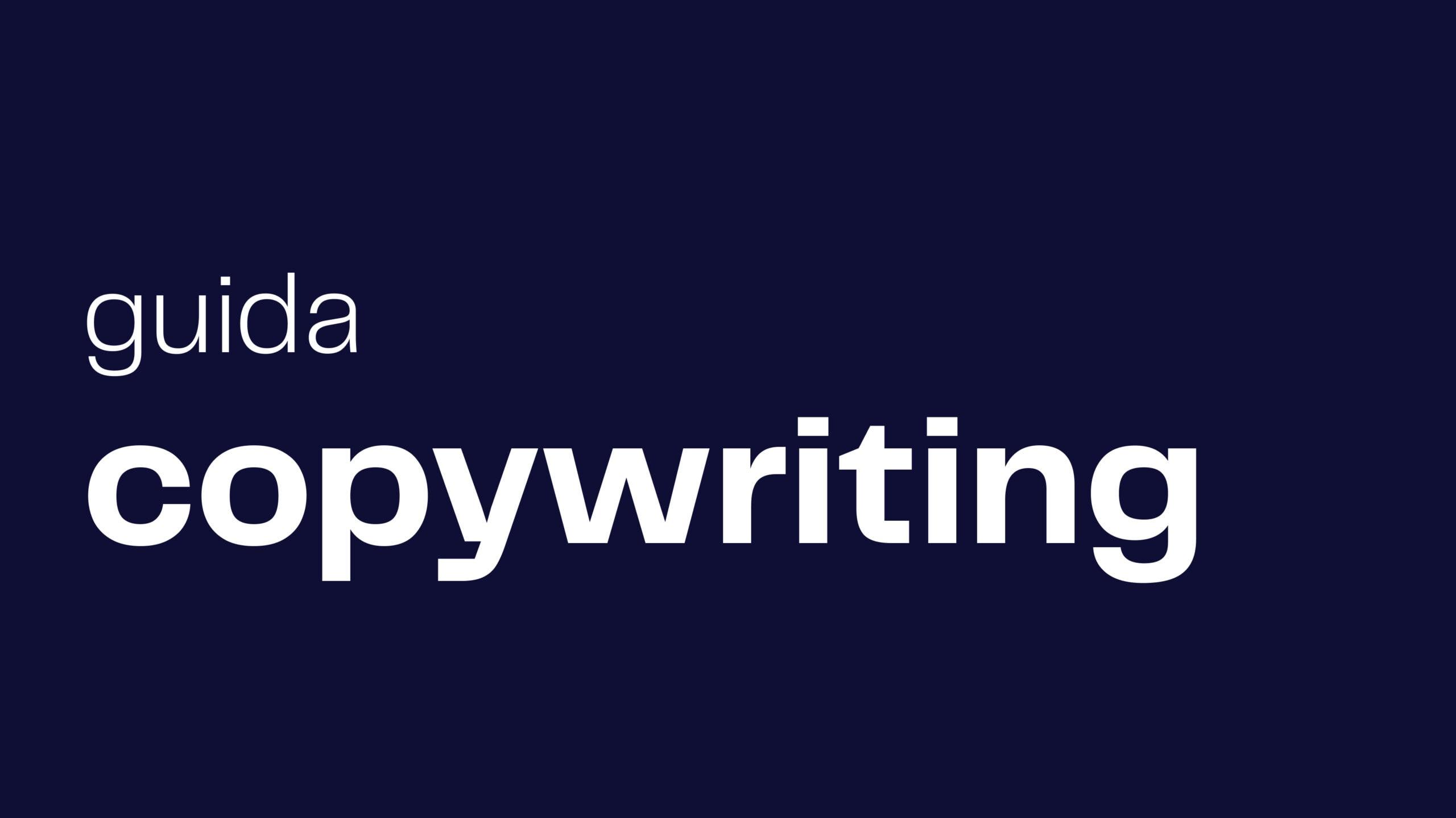 guida copywriting