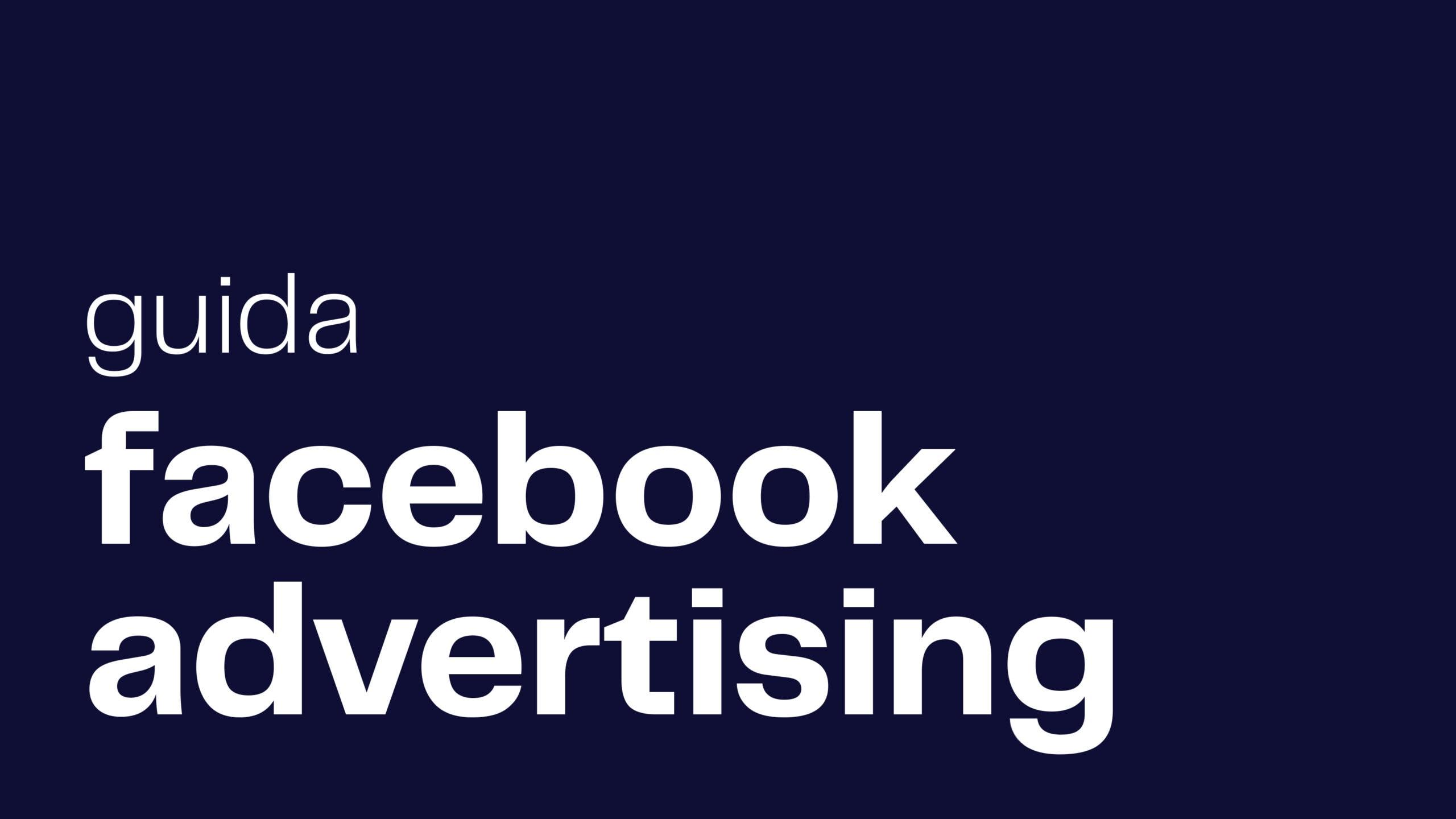 guida facebook ads