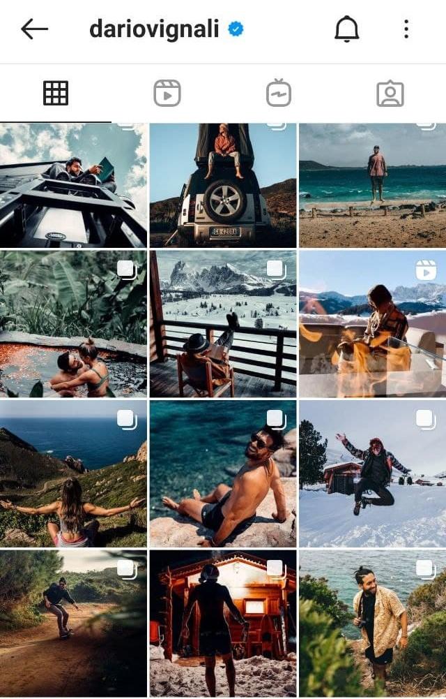 Guida Instagram Dario